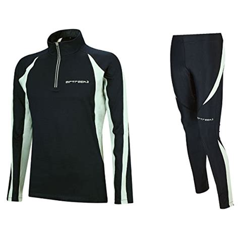 Damen – XL – Airtracks Winter Funktions Laufset/Thermo