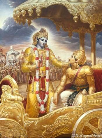 Alternate Time: Friendship and Revelation in the Bhagavad