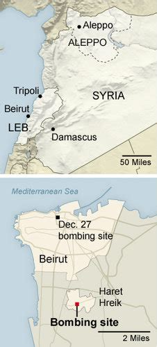 Deadly Bombing in Beirut Suburb, a Hezbollah Stronghold