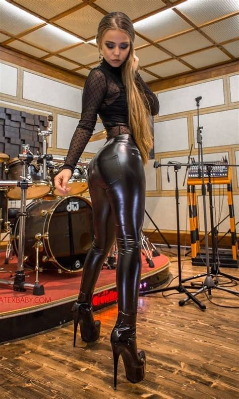 Hot Girls Wearing Latex And Leather - Barnorama
