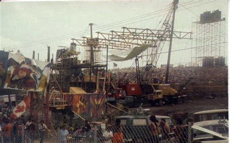 Woodstock Stage Construction   The Real Woodstock Story