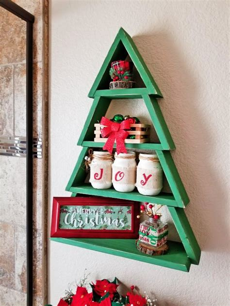 Ana White | Wooden Christmas Tree Shelf - DIY Projects