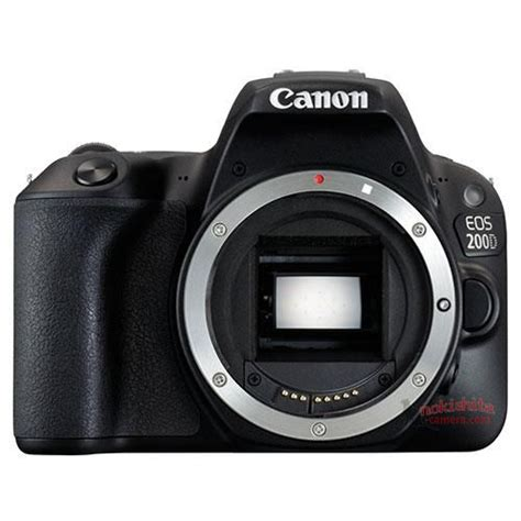 Leaked: Canon EOS Rebel SL2 (EOS 200D) Images and Specs