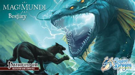 Magimundi Bestiary: New Monsters for 5e or Pathfinder by