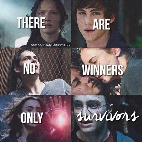 The Hunger Games, Percy Jackson, The Maze Runner