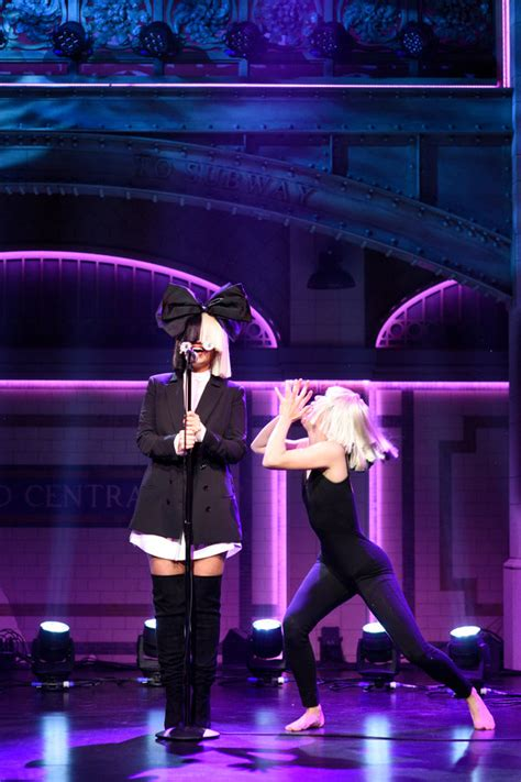Meet the Mystery Dancer Who Performed With Sia on 'S
