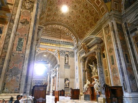 In Peter's Basilica, Vatican, Italy - The Incredibly Long
