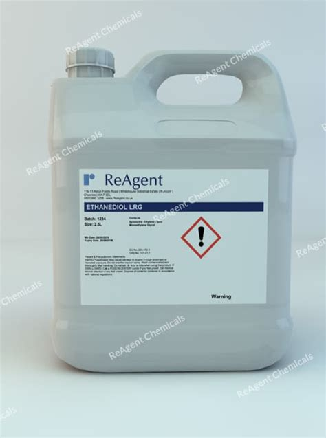 Ethylene Glycol Tech   Buy online from UK chemical suppliers