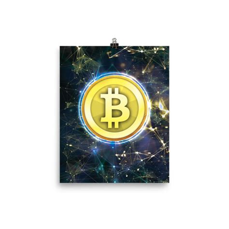 Cryptocurrency Posters: Authentic Crypto Merchandise & Swag