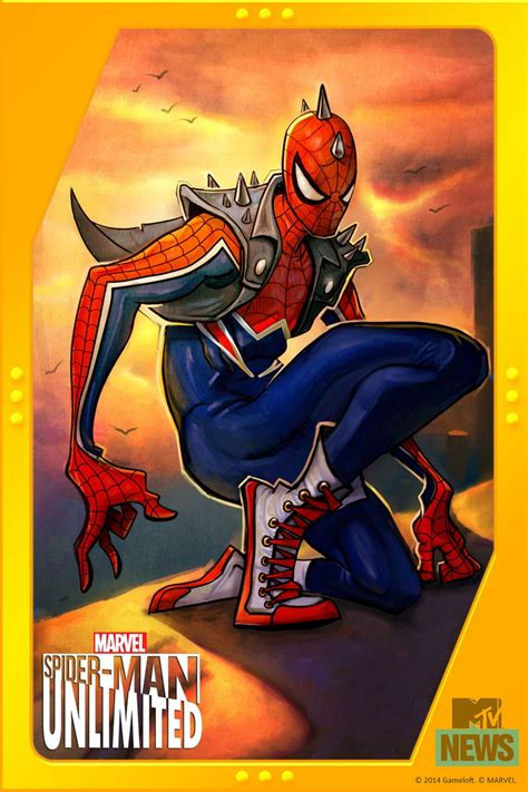 Anarchy In The Marvel U: Punk Spider-Man Is Headed To