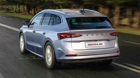 Production-Spec Skoda Enyaq EV Rendered; Launch Later This