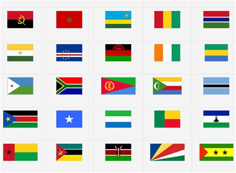 Africa: Flags - Flag Quiz Game