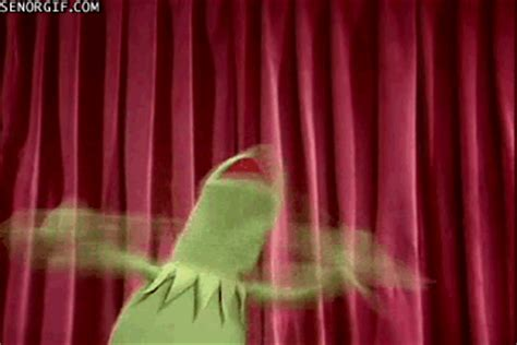 Kermit The Frog Applause GIF by Cheezburger - Find & Share