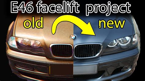How to facelift a BMW E46 - YouTube
